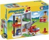 Playmobil 1.2.3. Brandweerkazerne - 6777
