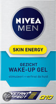 NIVEA MEN Wake Up Q10 Gezichtsgel - 50 ml - Dagcrème