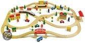 Base Toys Houten Spoorbaan Groot