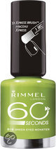 Rimmel 60 Seconds Finish - 816 Green Eyed Monster - Groen - Nagellak
