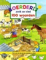 Boerderij zoek en vind 100 woorden