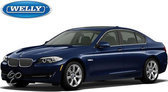 Welly BMW 535i Auto - Blauw