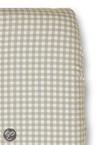 Cottonbaby Boerenbont - Hoeslakentje 60x120 cm - Taupe