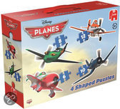 Jumbo Planes 4 in 1 - Gevormde Puzzel - 6,8,10 en 12 stukjes