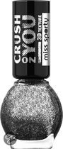 Miss Sporty Miss Sporty Crush on You Nailpolish - 062 Cosmic Black - Nagellak