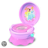 Disney Princess 3-in-1 toilettrainer. Potje, opstapje en wc-verkleiner in 1