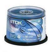 TDK DVD-R 4.7GB, 16x (50)