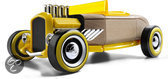 Automoblox: Mini HR-2 Hotrod Roadster - Geel