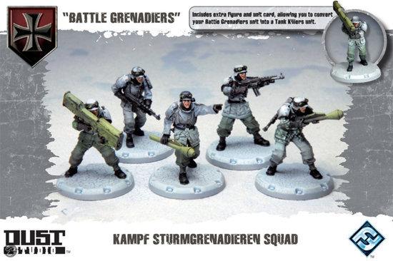 Dust Tactics - Battle Grenadiers Expansion