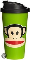Paul Frank Drinkbeker - To Go - Incl Deksel - 500 ml - Groen