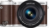 Samsung NX300M + 16-50 mm Powerzoom - Systeemcamera - Bruin