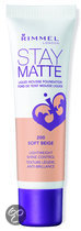 Rimmel Stay Matte Liquid Foundation - 200 Soft Beige - Foundation