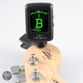 Clip-on Tuner - Chromatisch stemapparaat voor gitaar, bas, ukelele en viool