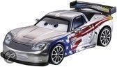 Disney Character cars 2 zilver: gorvette