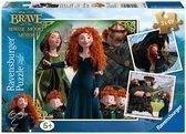 Ravensburger Puzzel 3x49 Stukjes - Disney's Brave