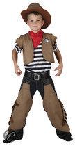 Superluxe Cowboy Dustin - Kostuum - 7-9 jaar