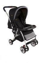 Baninni - Fedro Kinderwagen Black/Grey