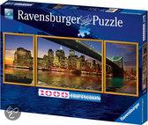 Ravensburger Triptychon Puzzel - New York, Brooklyn Bridge