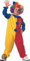 Clown hoed en kostuum - Maat M