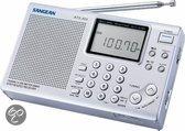Sangean ATS-404 - Draagbare radio - Zilver