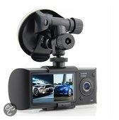 X-Capture X3000 dual lens Dashboard Camera met blackbox DVR, GPS logger en G-sensor