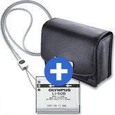 Olympus Accessoirekit (tas + batterij + nekkoord) voor de Mju 1010, 1020, 1030 SW