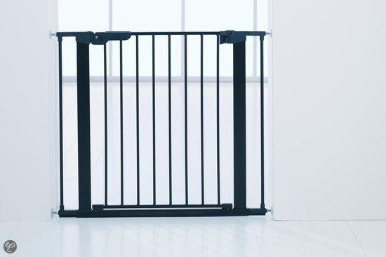 BabyDan - Premiergate deurhek - klemmodel - Zwart