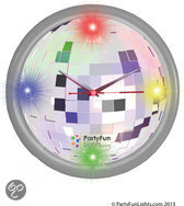Party fun lights Clock 4 led