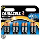 Duracell Ultra Power AA Alkaline Batterijen 8x Pak