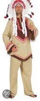 Indianen kostuum heren Cacique 52-54 (m)