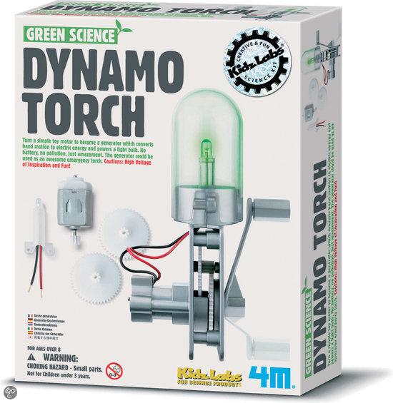 4M Kidzlabs Green Science - Dynamo Lamp