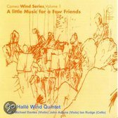 Little Music For A Few  Friends/Halle Wind Quintet