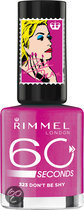 Rimmel London 60 Seconds Colour Rush by Rita Ora - 323 Fuchsia - Nagellak