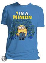 Verschrikkelijke Ikke (Despicable Me) 1 in a Minion T-shirt - Small