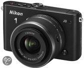 Nikon 1 J3 + 1 NIKKOR VR 10-30mm - Systeemcamera - Zwart