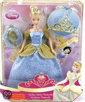 Disney Princess Gouden Glitter Assepoester