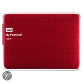 Western Digital My Passport Ultra 1TB - Externe Harde Schijf / Rood