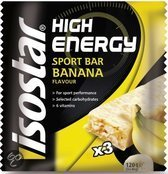Isostar High Energy Bar Banaan - 3 st - Maaltijdreep
