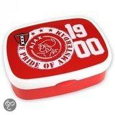 Ajax Lunchbox - Pride of Amsterdam - Rood / Wit