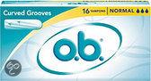 O.B.® Tampons Normal 16 st