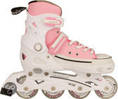 Inline Skates Junior Verstelbaar Canvas - 33-36