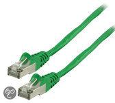 FTP CAT 5e netwerk kabel 5,00 m groen