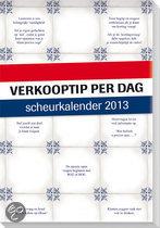 Scheurkalender 2013 Verkooptip per dag