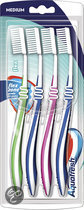 Aquafresh flex medium 4-pack - Tandenborstel