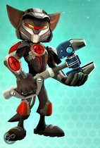 Ratchet & Clank Series 2 Exclusive Ratchet  in Hyperflux Armor AF