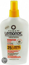 Ecran Lemonoil Sensitive Sun Milk Aloe SPF 25 - 200 ml - Zonnebrandspray