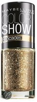 Maybelline Color Show Brocades - 220 Knitted Gold - Goud - Nagellak