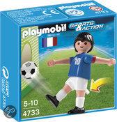 Playmobil Voebalspeler Frankrijk - 4733