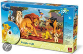 Disney  Puzzel + Cd The Lion King