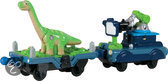Chuggington Die-cast Dinosaurus En De Camera Wagon, 2-Pack